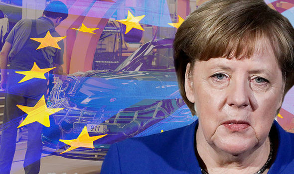 Germany issued shock Brexit WARNING: 14,000 jobs at risk in £3.36 billion HEADACHE
