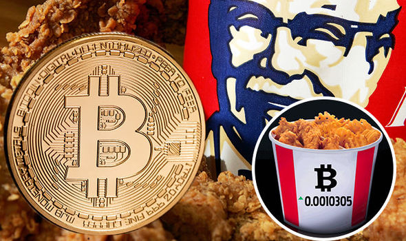 KFC launches 'BITCOIN Bucket' and WARNS investors cryptocurrency bubble will burst