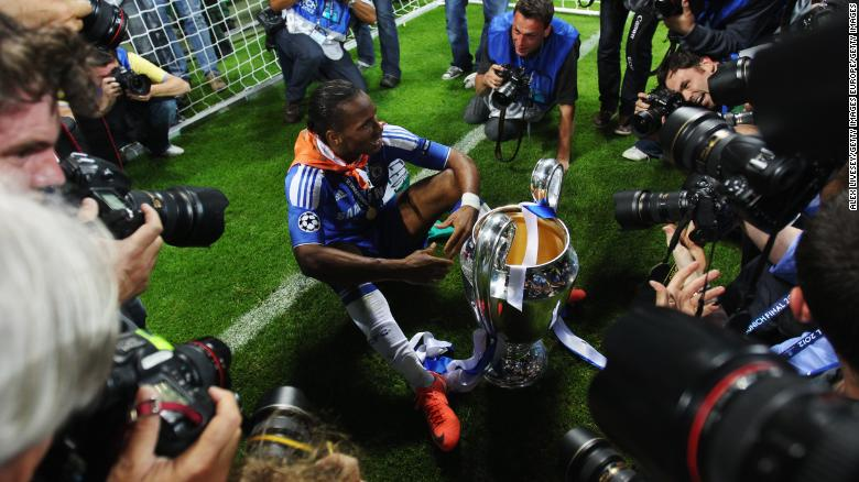 Chelsea great Drogba retires from football