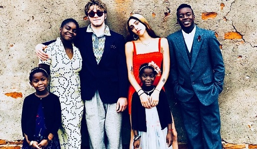 Madonna posts rare photo of her kids in Malawi on Thanksgiving