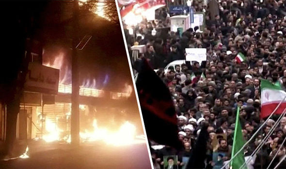 Thirteen people dead after violent widespread protests across Iran