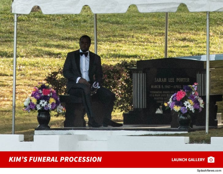 Diddy Delivers Emotional Eulogy at Kim Porters Funeral