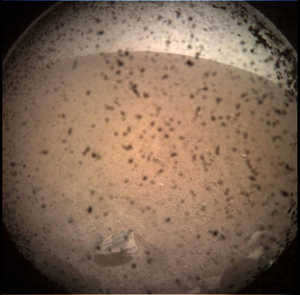 NASA InSight Lander Arrives on Martian Surface to Learn What Lies Beneath
