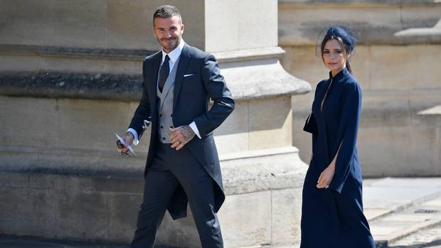 Celebrities jump to David Beckham's defence after criticism for on-the-lips kiss