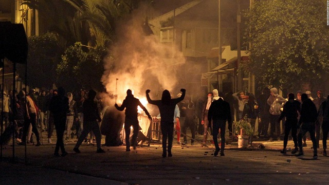 Over 700 arrested over Tunisia protests