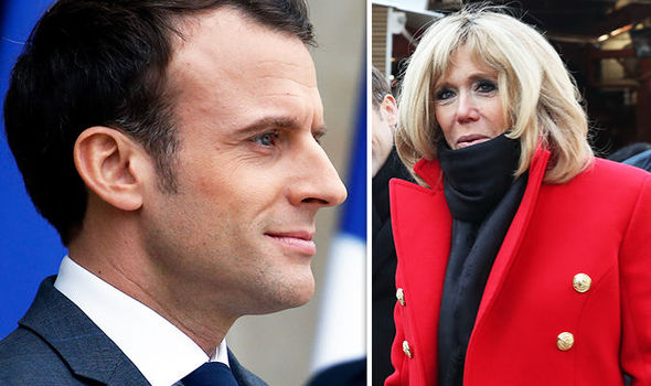 Teenage Emmanuel Macron wrote SMUTTY novel about drama teacher Brigitte