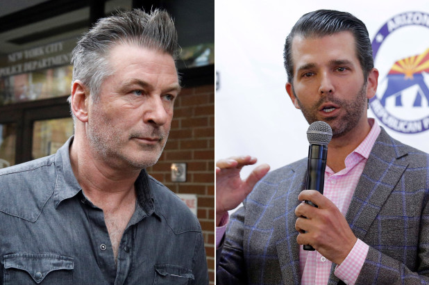 Trump Jr. calls Alec Baldwin 'garbage' in swipe over arrest