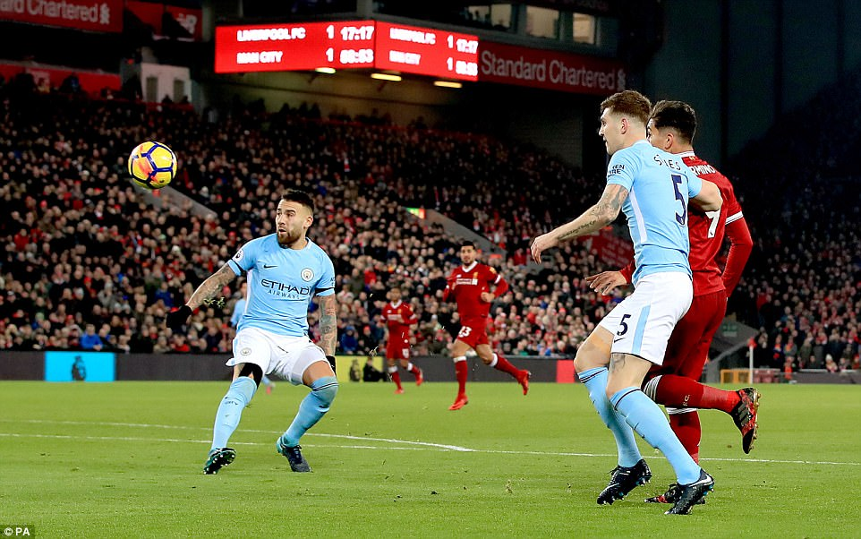 Liverpool 4-3 Manchester City: Reds hold on at Anfield