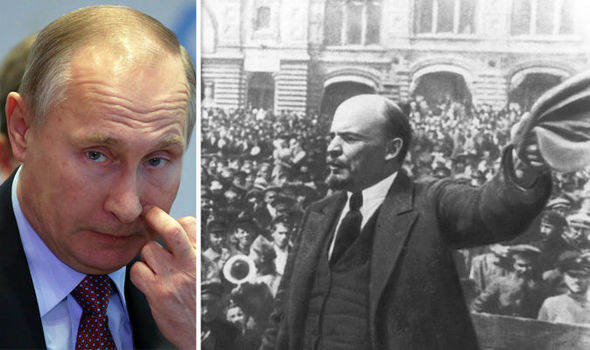 Communism like Christianity and Lenin is a SAINT claims Putin in shocking interview