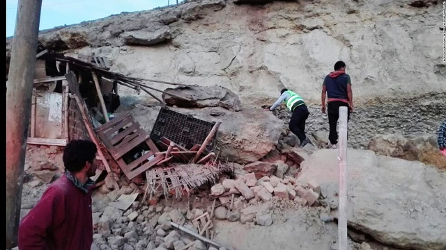 Peru earthquake: 2 dead, at least 65 injured
