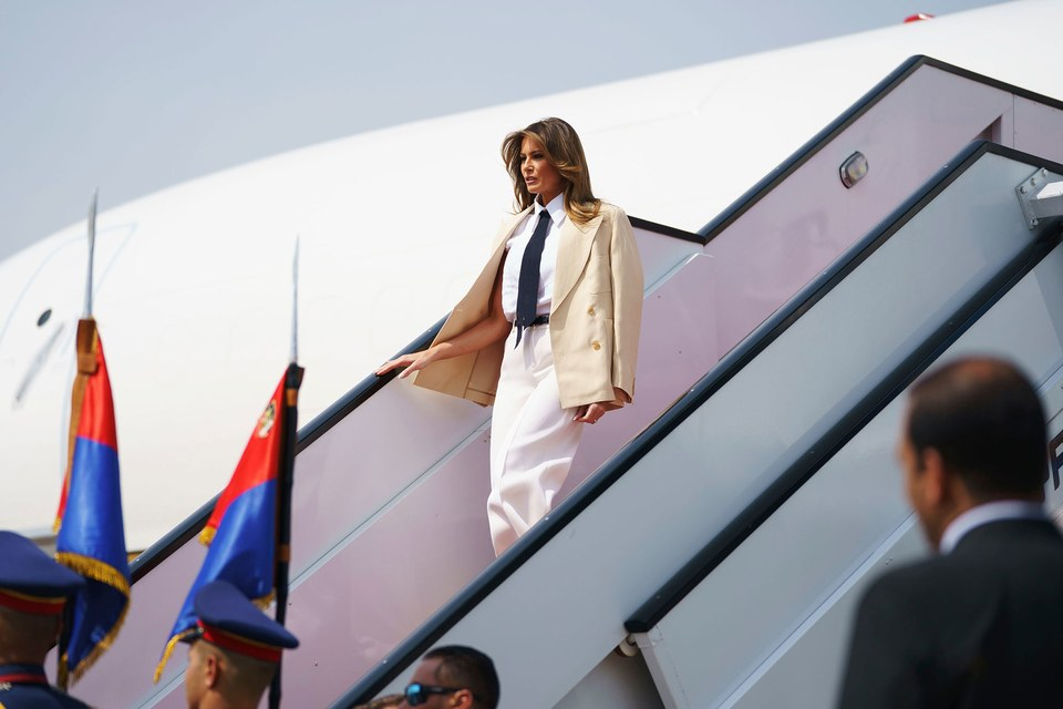 Melania Trump Spent Almost $100000 at a Hotel She Never Slept In
