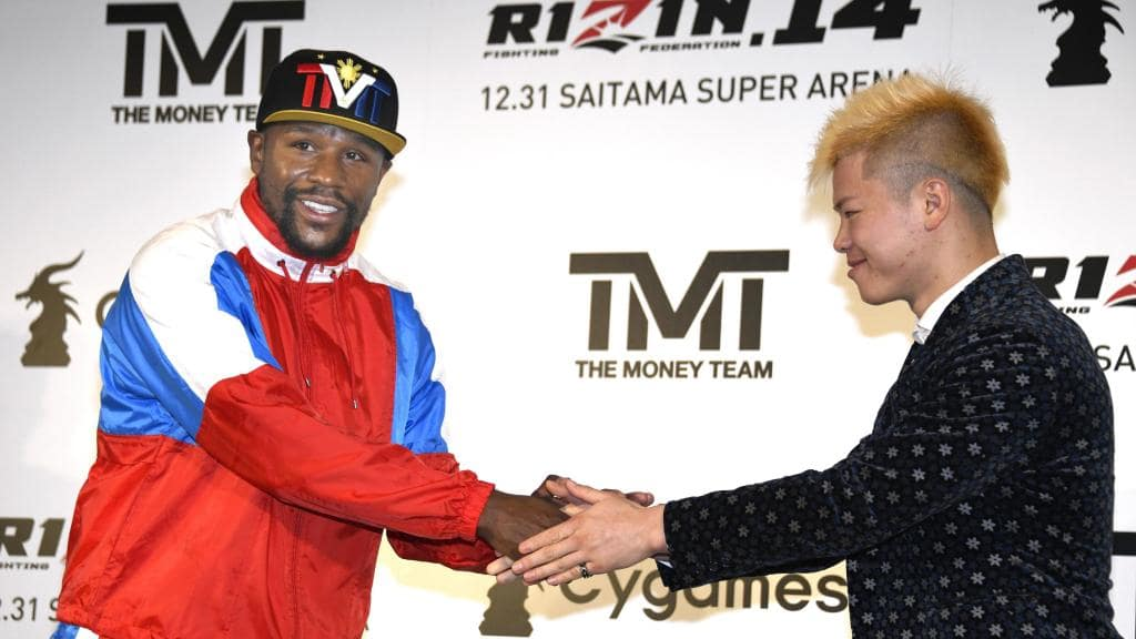 Floyd Mayweather to fight Japanese kickboxing sensation on New Years Eve