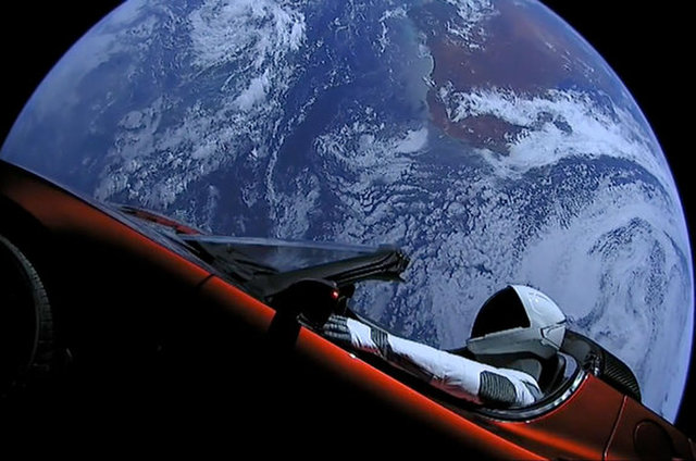 SpaceXs Starman and Its Tesla Roadster Are Now Beyond Mars