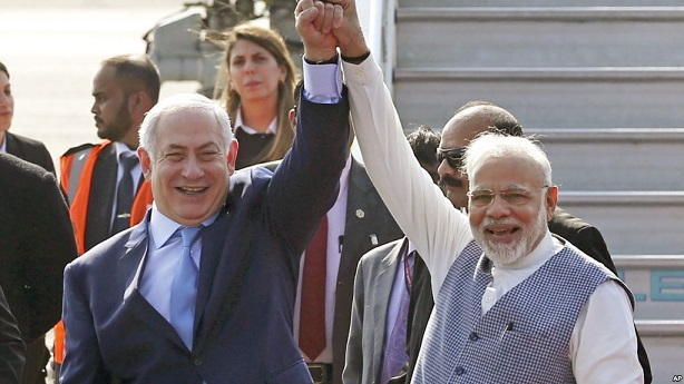 Israeli Prime Minister Netanyahu in India to Deepen Links