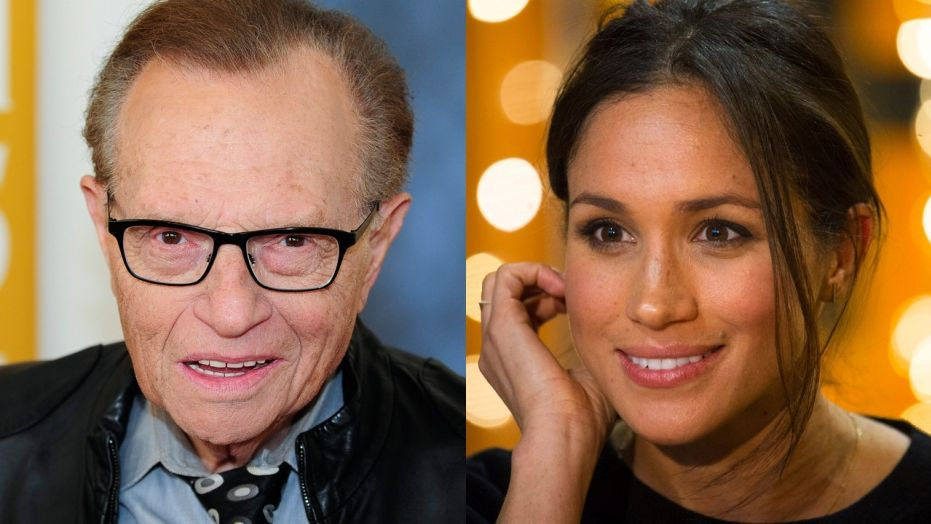 Larry King  says Princess Diana would have seen Meghan Markle as a step forward for the monarchy