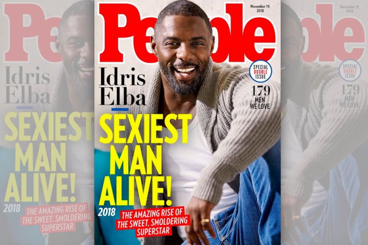 Idris Elba is named Peoples Sexiest Man Alive for 2018