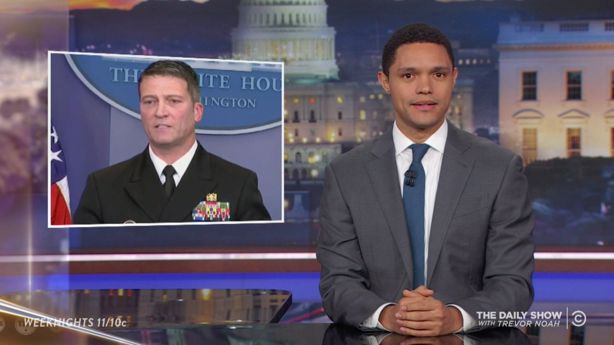 Late-Night Hosts Poke Fun at Trumps Physical Exam