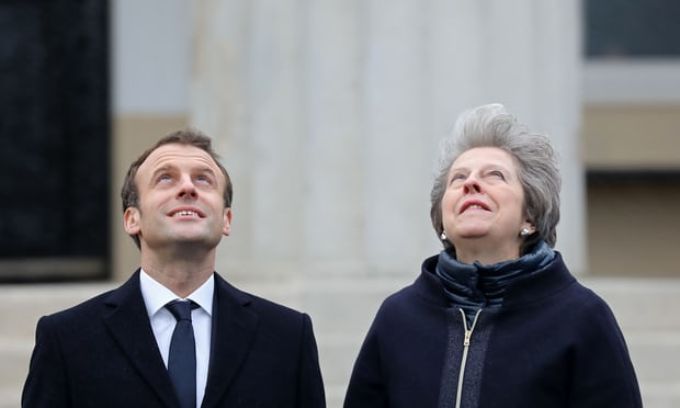 Theresa May and Emmanuel Macron to hold press conference at summit - Politics live