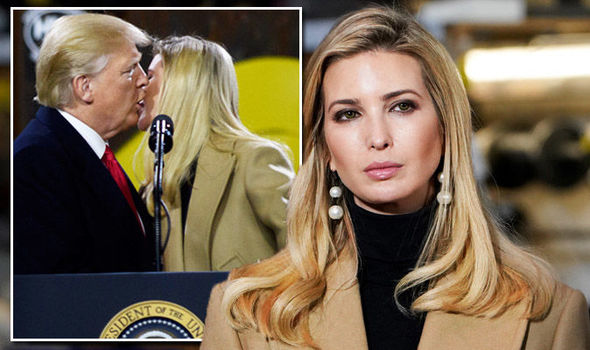 Ivanka Trump channels step-mother Melania in Pennsylvania with father Donald