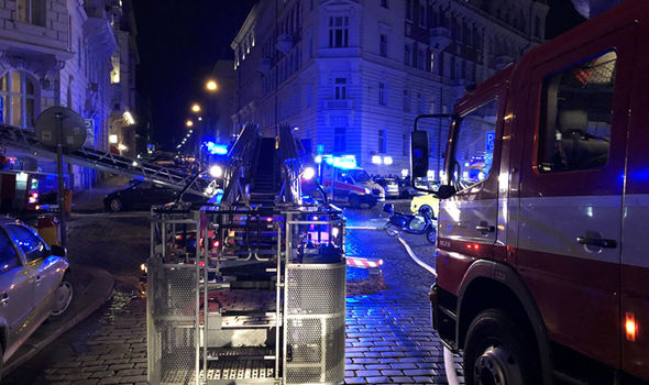 Prague hotel fire: At least two dead and seven injured after horror blaze engulfs hotel