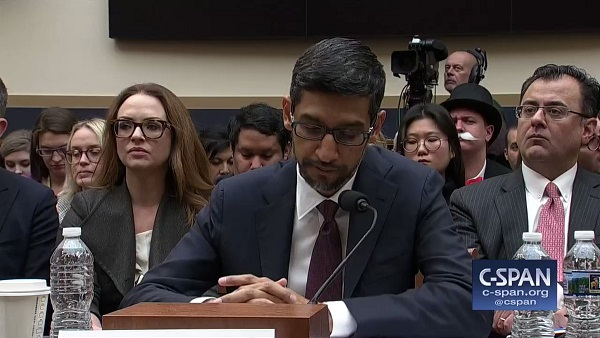 Google CEO Had To Explain To Congress Why Googling Idiot Shows Donald Trump
