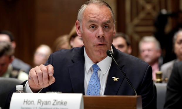 Embattled interior secretary Ryan Zinke steps down after series of scandals