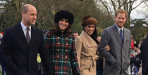 William and Kate WILL spend Christmas Day with Harry and Meghan and the Queen at Sandringham