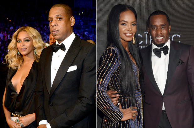 Diddy celebrates the late Kim Porter with Jay-Z, Beyoncé
