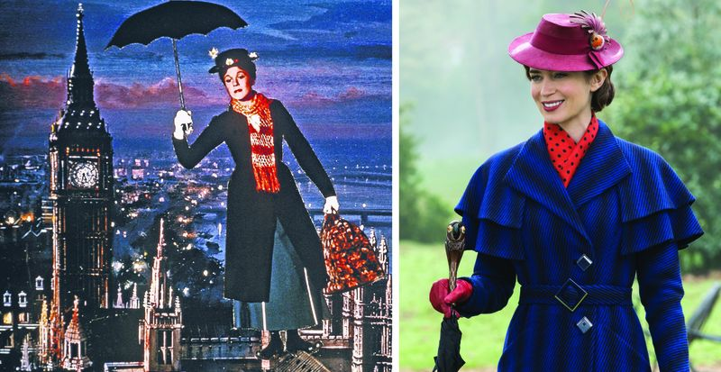 How Emily Blunts version of Mary Poppins compares to Julie Andrews