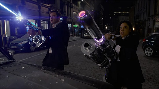Chris Hemsworth and Tessa Thompson Suit Up in 'Men in Black International' First Trailer