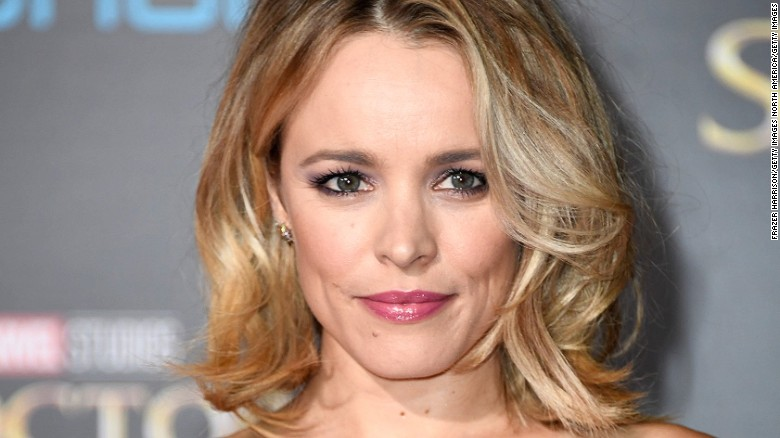Rachel McAdams went haute couture with a breast pump