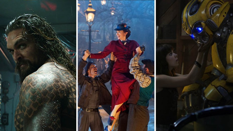 Box Office: Aquaman Opens to $67M; Mary Poppins Edges Past Bumblebee
