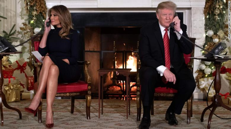 Trump asks 7-year-old, Are you still a believer in Santa?