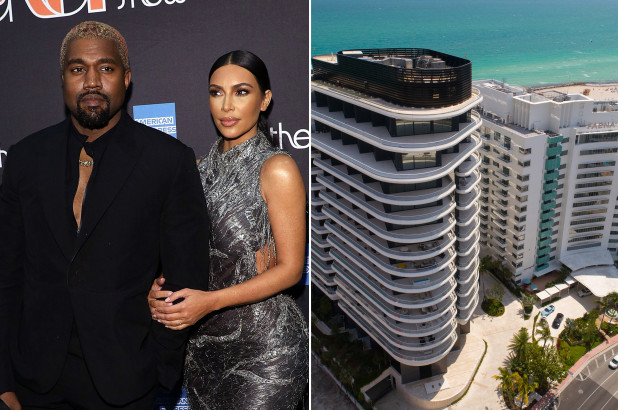 Kim and Kanye buying $14M luxury condo in Miami