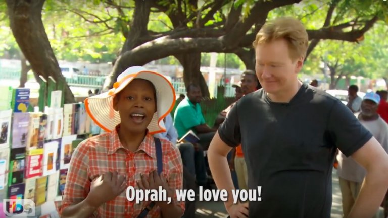 Conan: People of Haiti Roast President Trump in Preview Clip