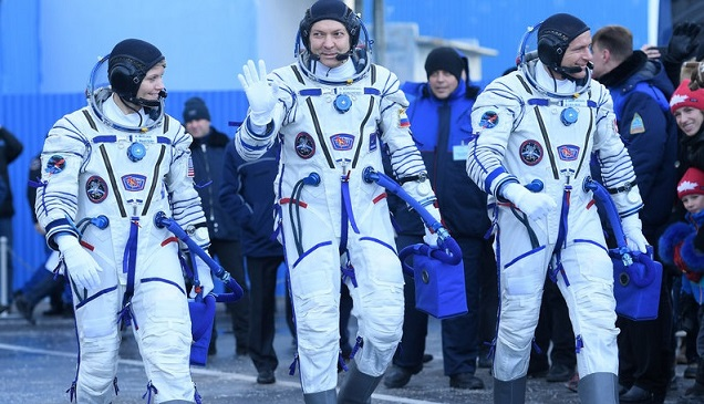 NASA, Roscosmos Successfully Launch Soyuz After Aborted Mission