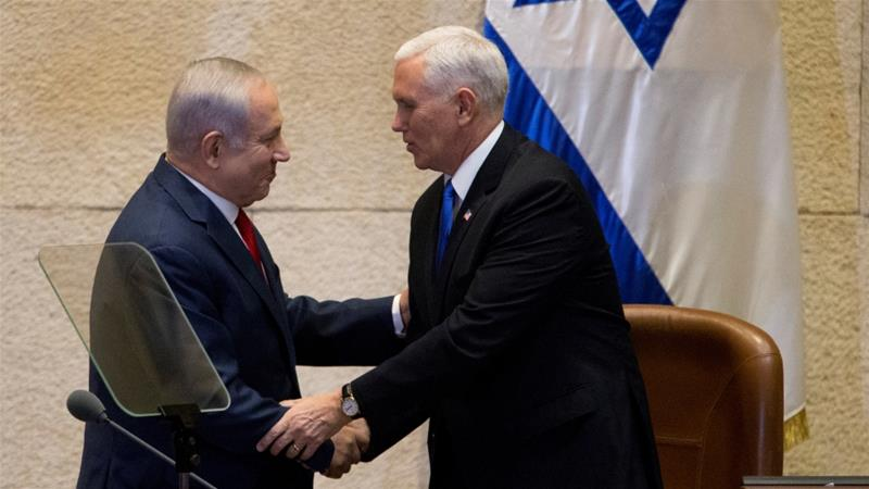 Peace between Israel and Palestinians more possible after Jerusalem move, Pence says