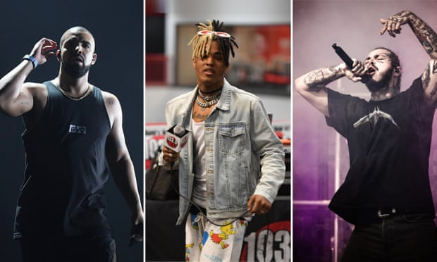 Drake, Post Malone and XXXTentacion are most-streamed artists of 2018 on Spotify