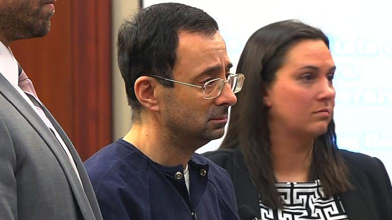Larry Nassar sentenced to up to 175 years in prison for decades of sexual misconduct