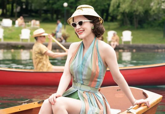 Review: The Marvelous Mrs. Maisel rides Emmy wins to a spitfire of a second season