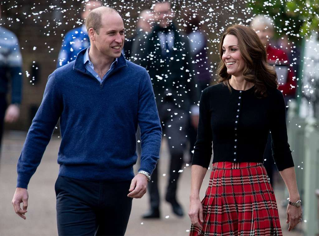 Kate Middleton Looks Festive in Plaid for Military Christmas Party With Prince William