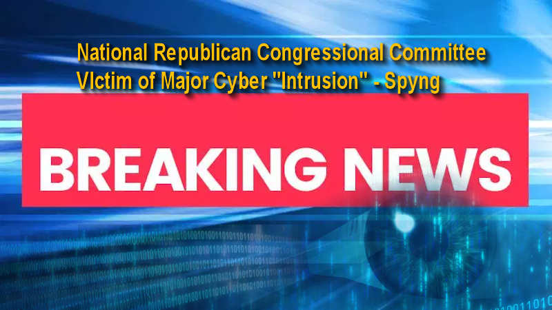 National Republican Congressional Committee suffered 'cyber intrusion,' spokesman says