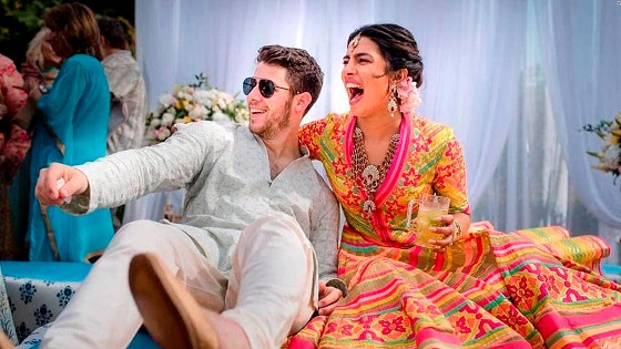 Priyanka Chopra and Nick Jonas share pictures from their gorgeous wedding