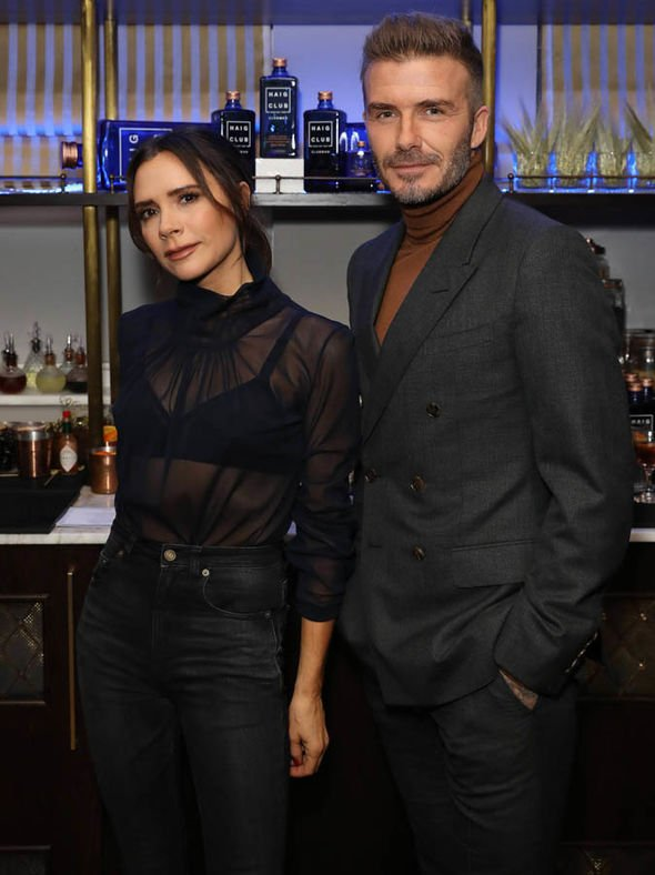 Victoria Beckham pictures: Designer joins husband David Beckham at Haig Club House Party