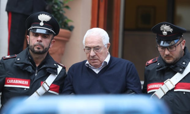Mafia godfather among 45 alleged mobsters held in Sicily