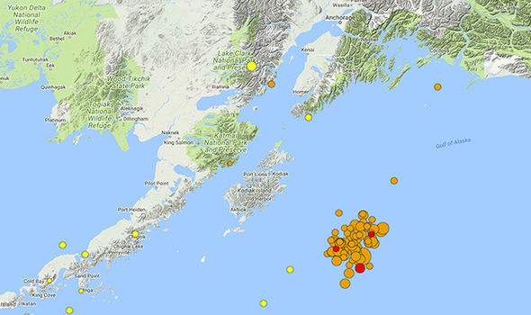Alaska earthquake: 78 quakes hit gulf near Kodiak after 7.9 shock sparks tsunami warning