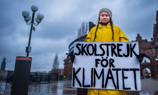 Our leaders are like children, school strike founder tells climate summit