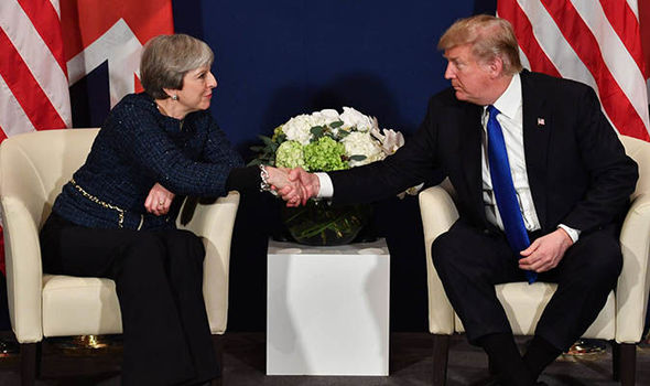 Well talk about it Donald Trump reveals visit to Britain could still go ahead