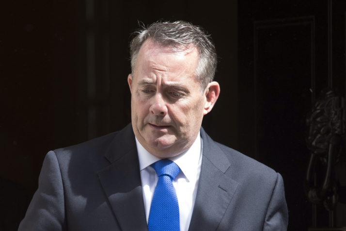 Liam Fox Claims MPs May Try To Steal Brexit From The People