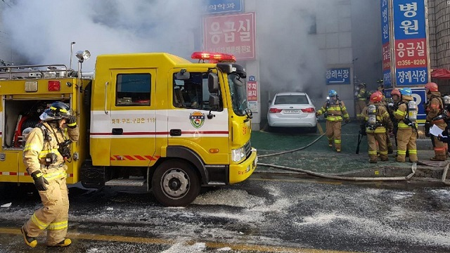 Deadliest fire in 10 years kills 39 in South Korean hospital